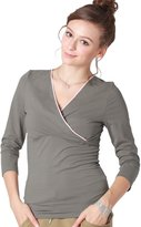 Sweet Mommy Lacy Nursing Padded Warm Inner Top BLM