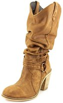 Dingo Western Boots Womens Morgan Tall Round Toe 9 M Brown DI 687