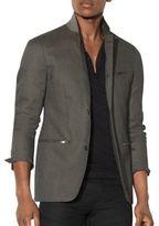 John Varvatos Thompson Cotton Blazer