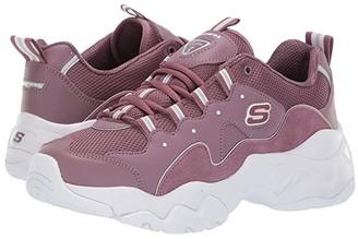 Skechers D'Lites 3.0 - Zenway (Purple) Women's Lace up casual Shoes