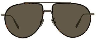 Christian Dior DiorBlackSuit 58MM Pilot Sunglasses