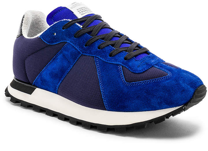 099a0f8bed7 Replica Runners in Navy & Electric Blue   FWRD