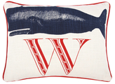 Thomas Paul W Whale Pillow