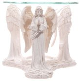 Camilla And Marc Puckator ANG116 Praying Angel Oil Burner White 11 x 12 x 10 cm