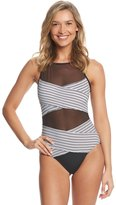 Anne Cole Mesh One Piece Swimsuit 8151753