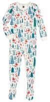 Tea Collection Infant Girl's Maeve Fitted One-Piece Pajamas