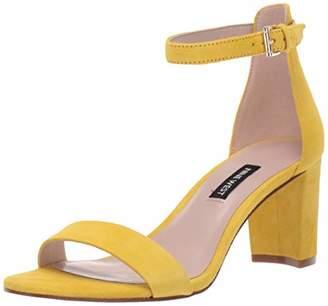 Nine West Womens Pruce Block Heeled Sandal M