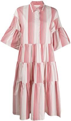 Odeeh Tiered Shirt Dress