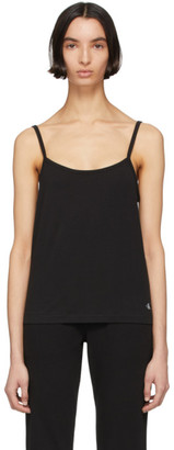 Calvin Klein Underwear Black Cotton Camisole
