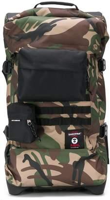 Eastpak x AAPE camouflage pocket holdall