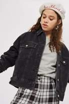Topshop Tall Oversized Denim Jacket