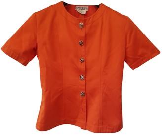 Saint Laurent Orange Cotton Jackets