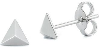 Nephora 14K Small Pyramid Studs