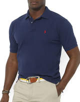 Polo Ralph Lauren Big and Tall Classic-Fit Short-Sleeved Cotton Mesh Polo