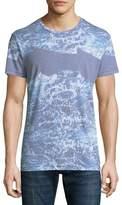 Sol Angeles Seafoam Wave-Print T-Shirt