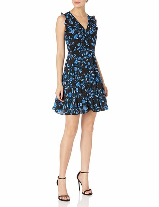 Rebecca Taylor Women's Sleeveless Kyoto Floral Dress