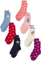 Cath Kidston Multi Box of 7 Socks