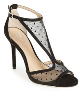 Women's Jewel Badgley Mischka Horizon T-Strap Mesh Sandal