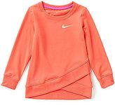 Nike Little Girls 2T-6X Dri-FIT Sport Essentials Crossover Tunic