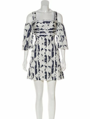 Alexis Off-The-Shoulder Midi Dress White
