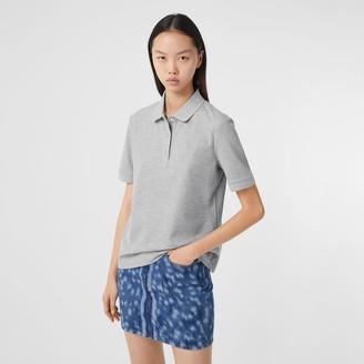 Burberry Monogram Motif Cotton Pique Poo Shirt