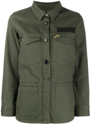 Zadig & Voltaire Zadig&Voltaire embroidered military shirt