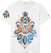 Etro Slim-Fit Printed Cotton-Jersey T-Shirt