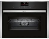 Neff C27CS22N0B Compact CircoTherm® Single Electric Oven, Stainless Steel
