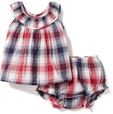 Old Navy 2-Piece Plaid Top & Bloomer Set for Baby
