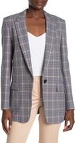 HUGO Kocani Houndstooth Check Suit Jacket