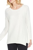 Women's Two By Vince Camuto Mixed Stitch Sweater