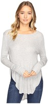 Culture Phit Leda Long Sleeve Top with Side Slits