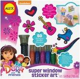 Alex Dora and Friends Window Sticker Art Toy