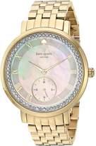 Kate Spade Women's KSW1291 Monterey Analog Display Japanese Quartz Watch