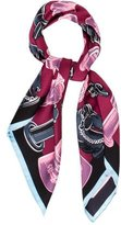 Louis Vuitton Chess Square Silk Scarf