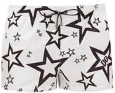 Dolce & Gabbana Star-print Swim Shorts - Mens - White