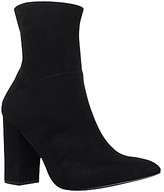Carvela Syndrome Block Heeled Ankle Boots, Black