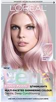 L'Oreal Feria Pastels Hair Color, P2 Rosy Blush (Smokey Pink)