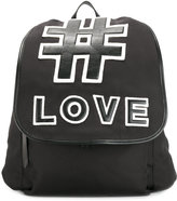 Ports 1961 LOVE backpack - men - Leather/Polyamide - One Size