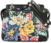 Fendi Dotcom floral printed tote - women - Leather - One Size