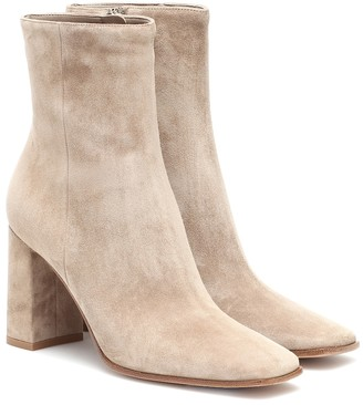 Gianvito Rossi Alistar suede ankle boots