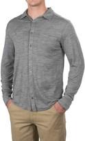 Ibex OD Heather Shirt - Merino Wool, Long Sleeve (For Men)