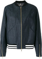 Capucci denim bomber jacket - women - Cotton/Polyester/Spandex/Elastane - 44