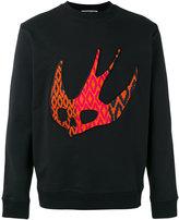 McQ by Alexander McQueen Darkest Black Sweater - men - Cotton - S