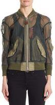 Junya Watanabe Tulle Bomber Jacket