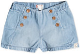 Roxy Denim Cotton Shorts, Little Girls (4-6X)