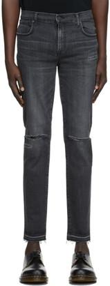 Moussy Black Denim MVM Kyle Skinny Jeans