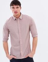 Scotch & Soda Classic Longsleeve Crinkled Cotton Shirt