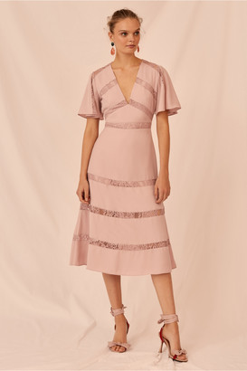 Keepsake SENSE MIDI DRESS rose