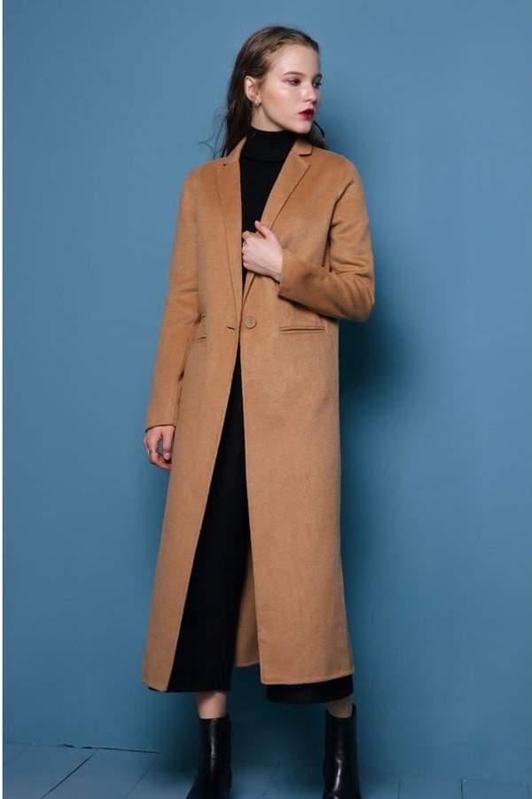 Genuine People Long Wool Coat